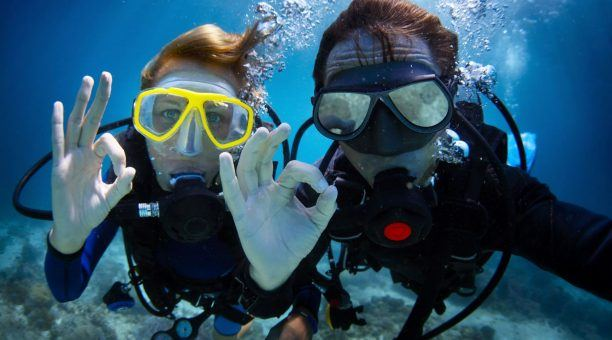 Enjoy the perfect diving spots around the Islands